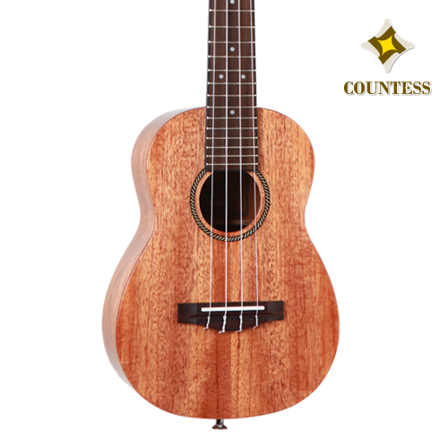 Countess,Ukulele,30CMM GS,Solid Cedar,Layered Mahogany,gloss,카운티스,우쿨렐레,탑솔리드,마호가니,유광,top solid,concert,콘서트