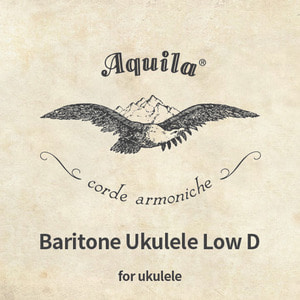 Aquila,Baritone,Ukulele,Low D,String,Set,바리톤,로우디,아퀼라,스트링