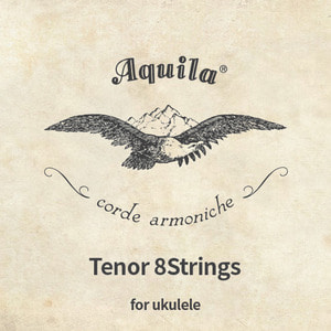 Aquila,Tenor,Ukulele,8String,set,아퀼라,테너,8현,스트링