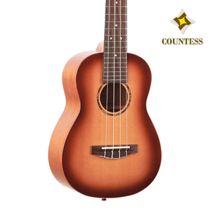 Countess,Ukulele,30CCM GS,Solid Cedar,Layered Mahogany,gloss,카운티스,우쿨렐레,탑솔리드,시더,마호가니,썬버스트,sunburst,top solid,concert,콘서트