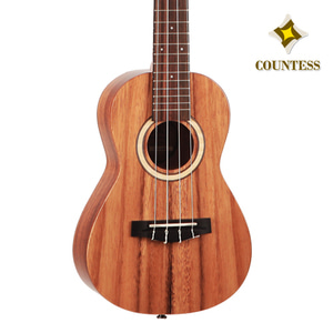 Countess,Ukulele,50Cat,gs,Solid trembesi,Layered trembesi,카운티스,우쿨렐레,탑솔리드,트렘베시,top Back solid,Concert,콘서트
