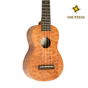 Countess,Ukulele,30AQ,20AQ,Solid Quilted Maple,Layered Maple,카운티스,우쿨렐레,탑솔리드,메이플,퀄티드,top solid,soprano,소프라노